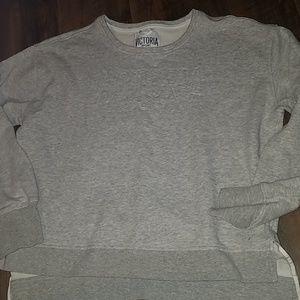Victoria Sport gray sweatshirt sz L soft EUC